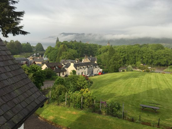The Lovat, Loch Ness: View from room with Loch Ness in the distance