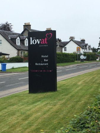 The Lovat, Loch Ness: The Lovat is on the main road in Ft. Augustus