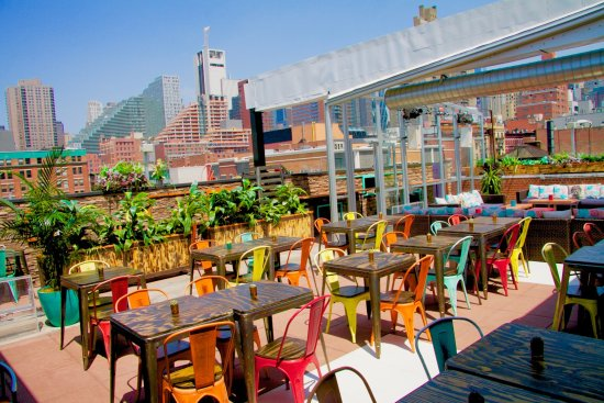 Cantina Rooftop New York City Hell S Kitchen Restaurant