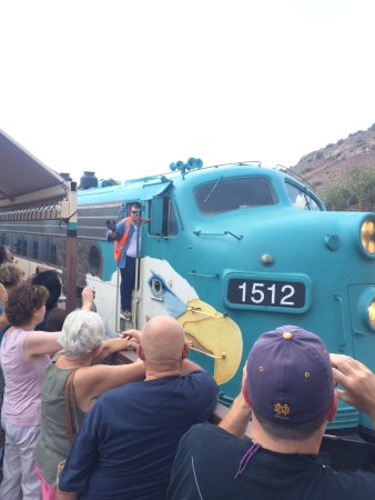 Verde Canyon Railroad: Verde Canyon Engine 1512