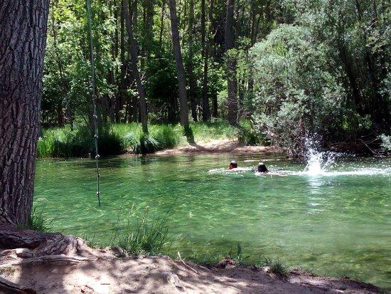 piscinas naturales en casa rurales chon fotograf a de