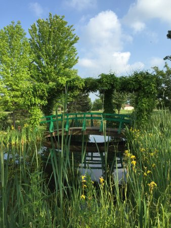 A replica of the bridges at the Monet Garden in Giverny - Picture of ...