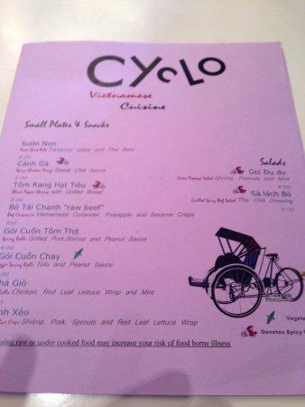 Cyclo Vietnamese Cuisine