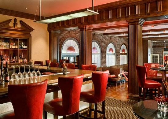 Epoch Restaurant & Bar: Our great bar leads right into the dining room