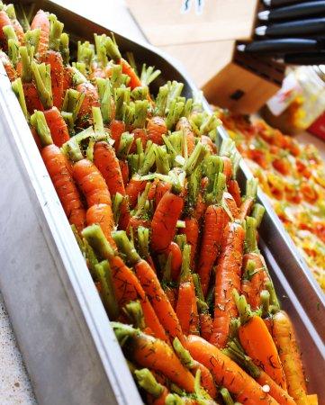 Stockmen's Chophouse: Farm to table carrots