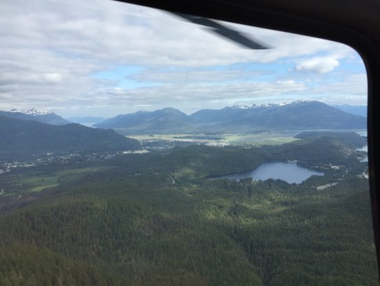 NorthStar Trekking: View from the helicopter