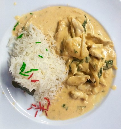 Flavour Restaurante: Thais kip curry