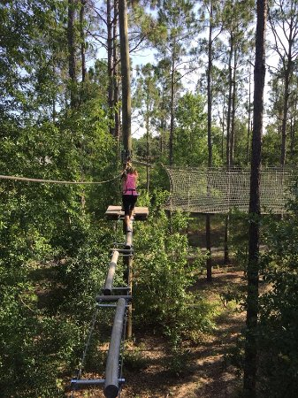 Kissimmee, FL: All sorts of obstacles - keeps it interesting