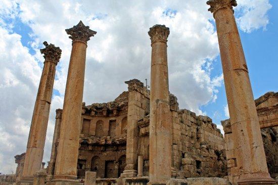 Ruínas de Jerash: Ninfeo