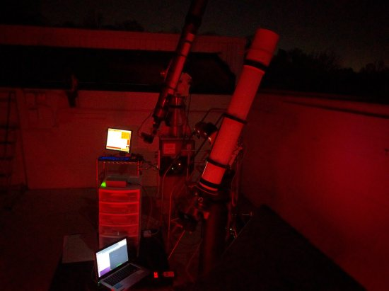 College Park, MD: some telescopes at UMD Observatory