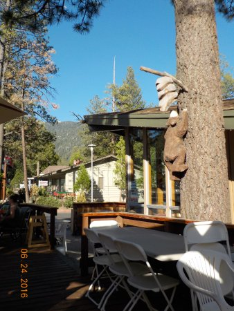 ‪‪Idyllwild‬, كاليفورنيا: PATIO AREA‬