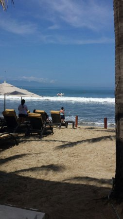Marival Residences Luxury Resort Nuevo Vallarta: Private beach club where your every need is met with a smile!
