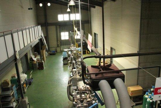 Tamba Wine : 工場内の一部