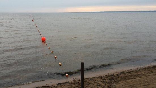 Verona Beach, estado de Nueva York: Beachview across Oneida Lake