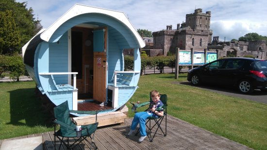 Lockerbie, UK: Pod