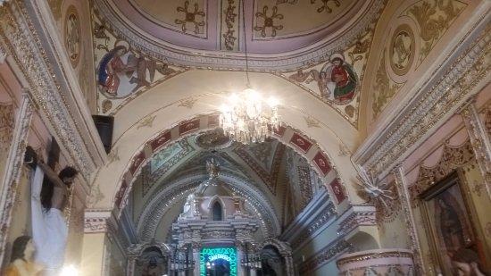 San Pedro Cholula, Meksiko: Sus techos admirables