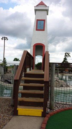 Monsoon Lagoon Water Park: Mini-Golf Course