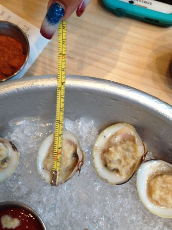 NOT Cherrystone clams - Little Necks. Do not be fooled.