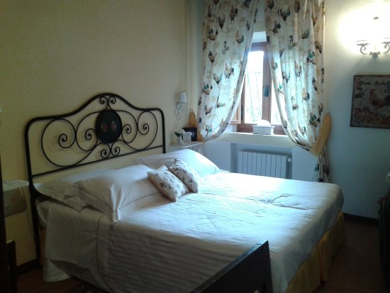 Hotel Belvedere Di San Leonino: Um quarto aconchegante e lindo!