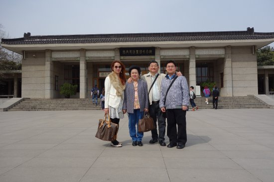 Xian County, China: Xi'an Mausoleum Entrance