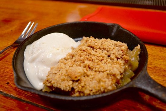 Island Park, ID: great options if you've got a sweet tooth. Pictured here is the apple crisp