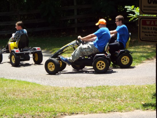 Childersburg, ألاباما: Pedal Power Racing