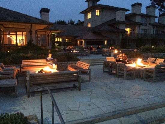 The Inn At Spanish Bay Fire Pit Patio