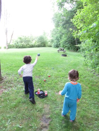 Williamstown, VT: kids enjoying the area