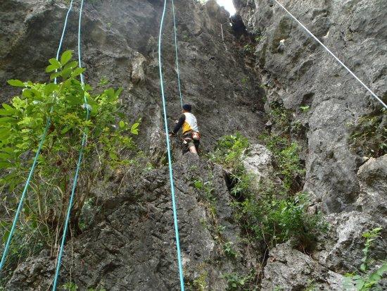 Регион Калабарсон, Филиппины: Rock Climbing within the vicinity of Wawa Sam