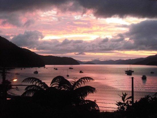 Anakiwa, Nueva Zelanda: Sunset