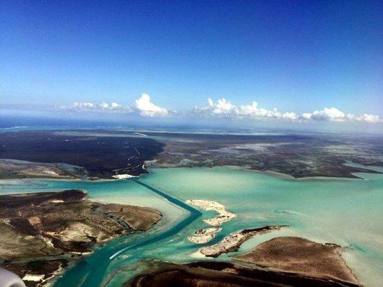 Club Med Turkoise, Turks & Caicos: Vue de l'avion