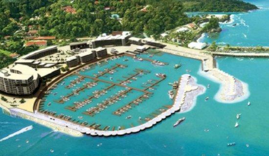 La Sirena Hotel : Walking distance to Marina Pez Vela