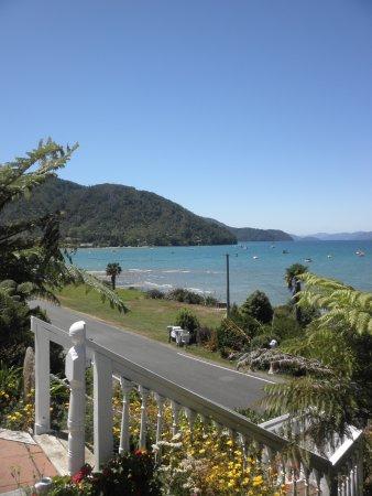 Anakiwa, Nueva Zelanda: Stairs to beach