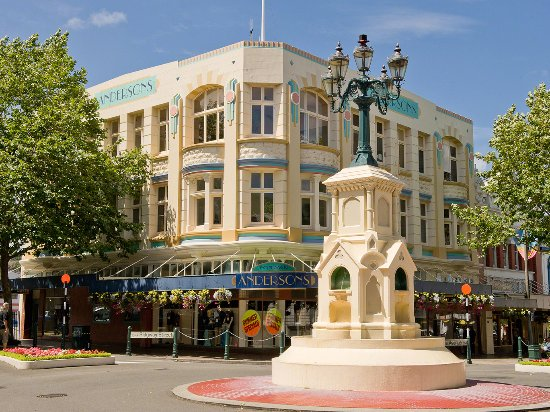 Watt Fountain, Whanganui, New Zealand
