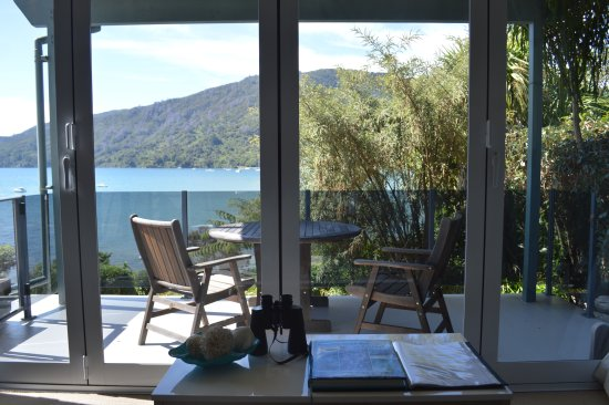 Anakiwa, New Zealand: View from Queen Charlotte Suite