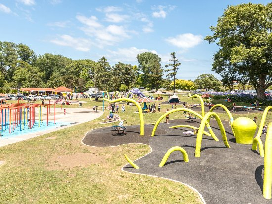 วางกานูอี, นิวซีแลนด์: Kowhai Park In Whanganui, New Zealand