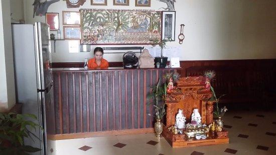 Angkor Voyage Villa: Reception area ground floor