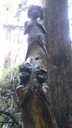 Mount Dandenong, Australie : One of the many artworks