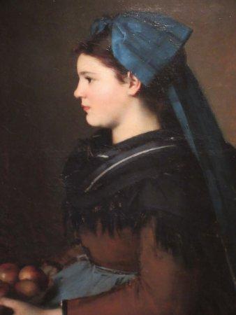 Musee National Jean-Jacques Henner: femme du Sundgau