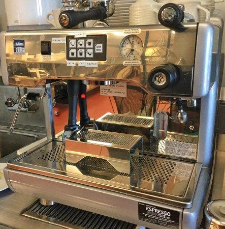 Italian Espresso Machine Picture Of La Vista Italian