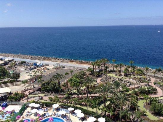 Club Gran Anfi: Вид с балкона