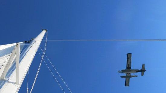 Nanaimo, Kanada: Sea plane flying over