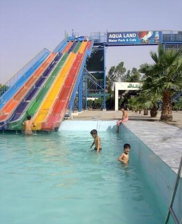 Aqua Land Water Park: Aqua Land Water Pool is located on the busy canal road in Faisalabad. Good Attraction for group