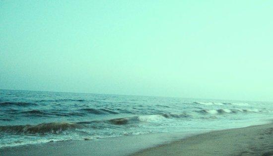 Breezy Beach : Thiruvanmiyur Sea Beach