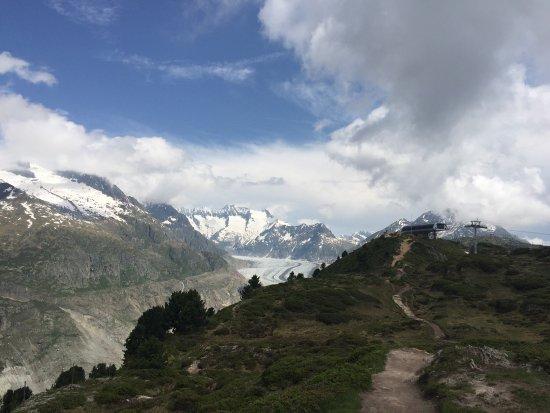 Riederalp, Zwitserland: Bilder fra vår tur hit