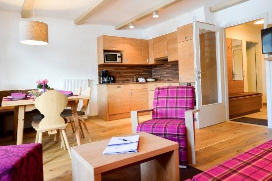 Wohnraum Kuche Spa Chalet Picture Of Alm Resort Nassfeld