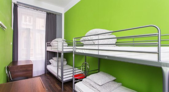 One World Hostel: 4 Bed Dormitory Room