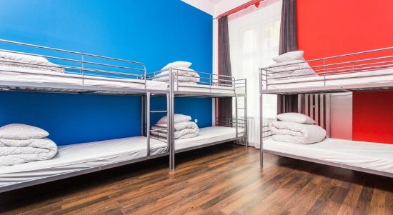 One World Hostel: 8 Bed Dormitory Room