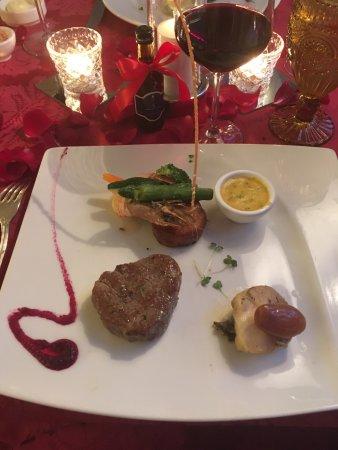 Honeymoon meal