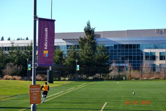 Microsoft Visitor Center: Кампус.